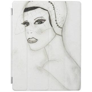 Ein neues Prallplatten-Mädchen iPad Smart Cover