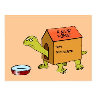 Ein neues Zuhause Postkarte