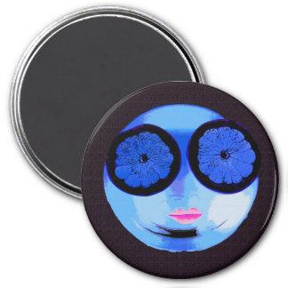 Ein niedlicher Magnet Runder Magnet 7,6 Cm