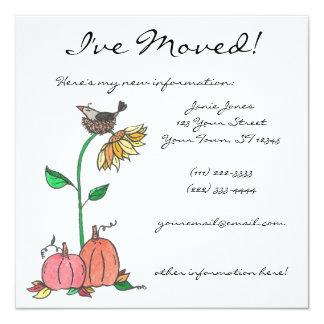 Ein Nizza Platz zum Nest Quadratische 13,3 Cm Einladungskarte