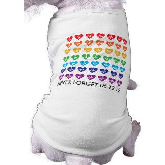 Ein Orlando ein Herz-Regenbogen-Haustier des T-Shirt