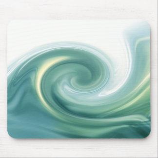 Ein Ozean der grünen Wellen Mousepads