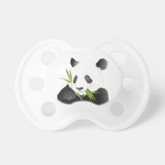 Ein Panda-Bär Schnuller