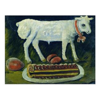 Ein paschal Lamm, 1914 Postkarte
