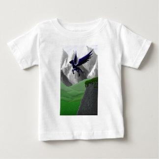 Ein Pegasus-Fliegen Baby T-shirt