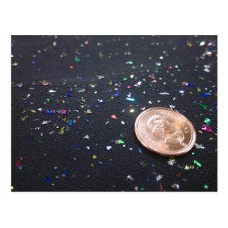 Ein Penny Saved ist ein gefeierter Penny Postkarte