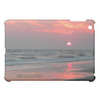 Ein perfekter Sonnenuntergang - Eichen-Insel, NC iPad Mini Hülle
