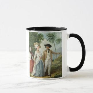 Ein Pflanzer und seine Ehefrau, teilgenommen von Tasse