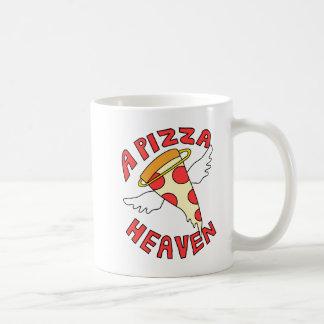 Ein Pizza-Himmel Kaffeetasse