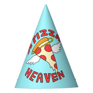 Ein Pizza-Himmel Partyhütchen