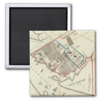 Ein Plan des Eigentums des HamptonNormal Quadratischer Magnet