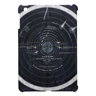 Ein Plan oder eine Karte des Sonnensystems iPad Mini Hülle