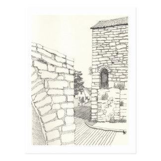 Ein Porträt von Gotland No.11 Postkarte