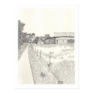 Ein Porträt von Gotland No.13 Postkarte