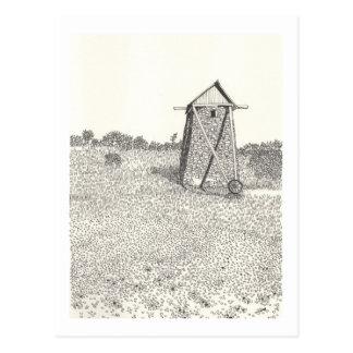 Ein Porträt von Gotland No.15 Postkarte