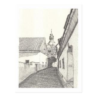 Ein Porträt von Gotland No.6 Postkarte