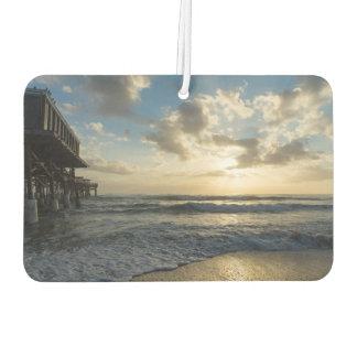 Ein prachtvoller Strand-Morgen Lufterfrischer