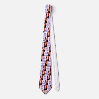 Ein Präsident Is Neither Prinz - George H W Personalisierte Krawatten