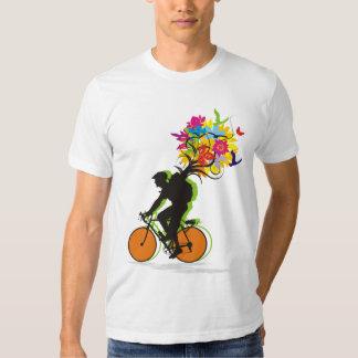 Ein Radfahrersatz der Natur T Shirt