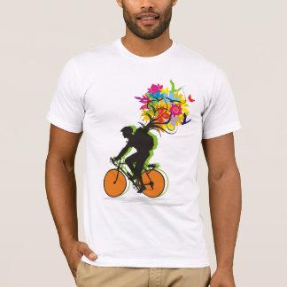 Ein Radfahrersatz der Natur T-Shirt