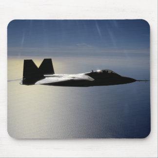 Ein Raubvogel F/A-22 fliegt eine Mousepad
