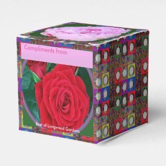 Ein RedROSE n PinkROSE Editable DIY 2x2 Geschenkschachtel