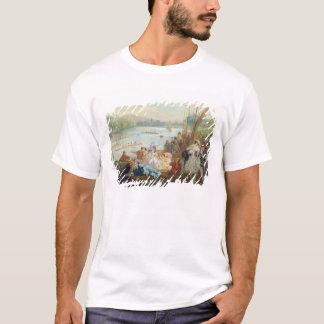 Ein Regatta bei Asnieres während des zweiten T-Shirt