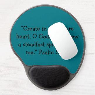 """""""Ein reines Herz-"""" motivierend Mausunterlage Gel Mousepad"""