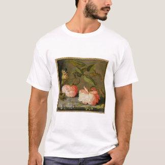 Ein ruhiges Leben mit Rosen auf einer Leiste T-Shirt