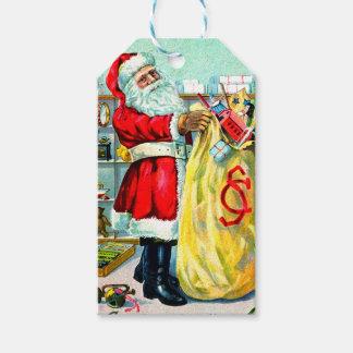 Ein Sack voll Weihnachten Geschenkanhänger