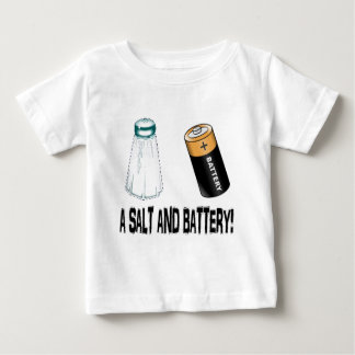 Ein Salz und eine Batterie! Baby T-shirt