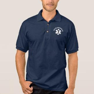 Ein Sanitäter-Thema Polo Shirt