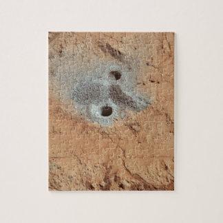Ein Schädel auf Mars? Puzzle