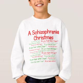 Ein Schizophrenie-Weihnachten Sweatshirt