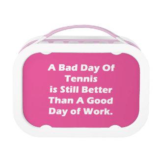 Ein schlechter Tag von Tennis Brotdose