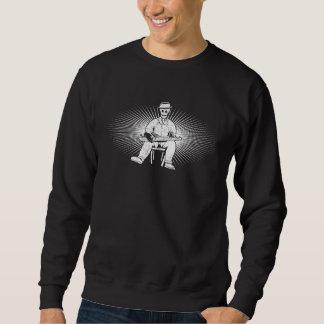 Ein Schnur-Skelett Sweatshirt