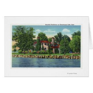 Ein schöner Chautauqua See-Wohnsitz Karte