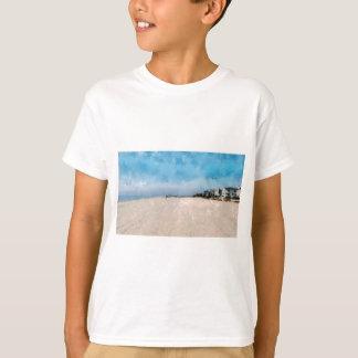 Ein schöner leerer Strand in Virginia T-Shirt