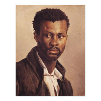 Ein Schwarze, 1823-24 Postkarte