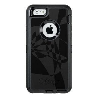 Ein schwarzer Fisch OtterBox iPhone 6/6s Hülle