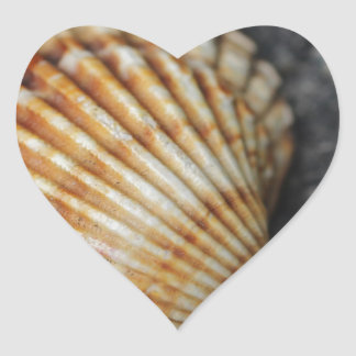 ein Seeoberteil Herz Sticker