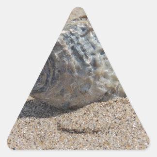 Ein Seeoberteil Dreiecks-Aufkleber