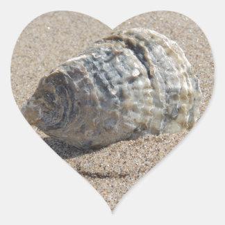 Ein Seeoberteil Herz-Aufkleber