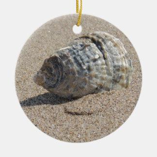 Ein Seeoberteil Rundes Keramik Ornament