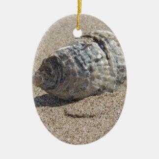 Ein Seeoberteil Ovales Keramik Ornament