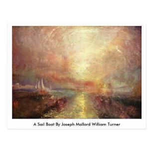 William Turner Schiff im Schneesturm Kunstpostkarte