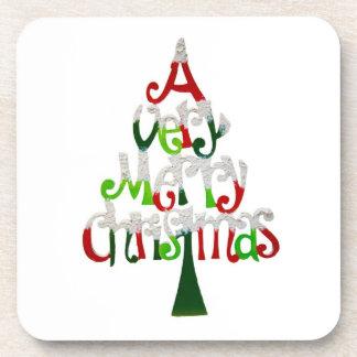 Ein sehr frohe Weihnacht-Korken-Untersetzer