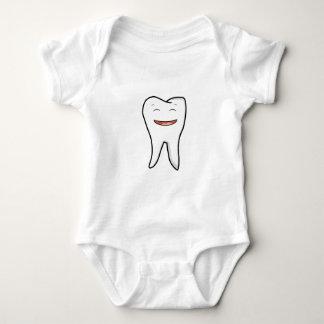Ein sehr glücklicher Zahn Baby Strampler