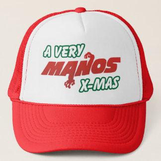 Ein sehr Manos Weihnachten! Truckerkappe