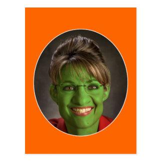 Ein sehr Palin Halloween! Postkarte